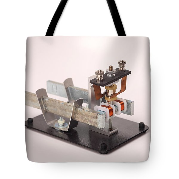 Electric Motor Tote Bag by Ted Kinsman