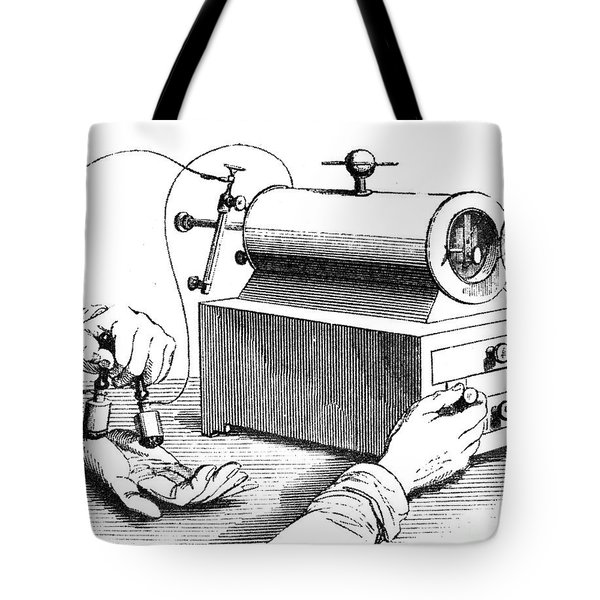 Electrical Device, 1876 Tote Bag by Granger