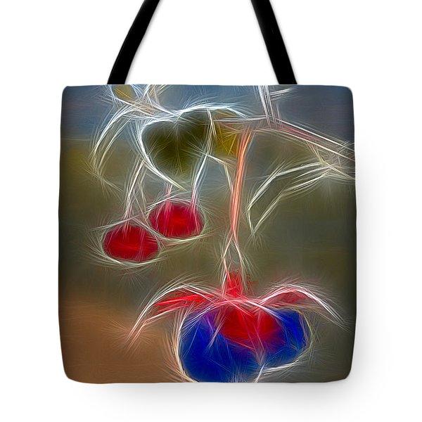 Electrifying Fuchsia Tote Bag by Susan Candelario