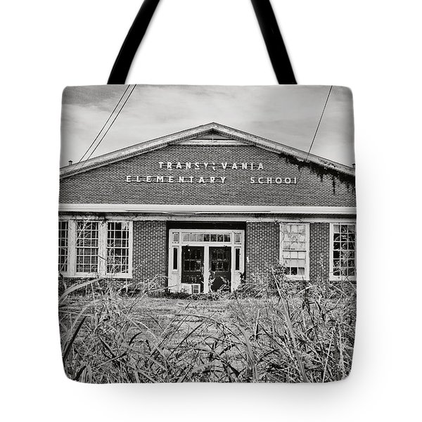 Elementary School Tote Bag by Scott Pellegrin