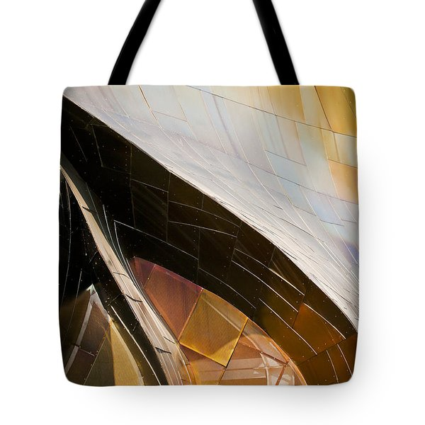 EMP Curves Tote Bag by Chris Dutton