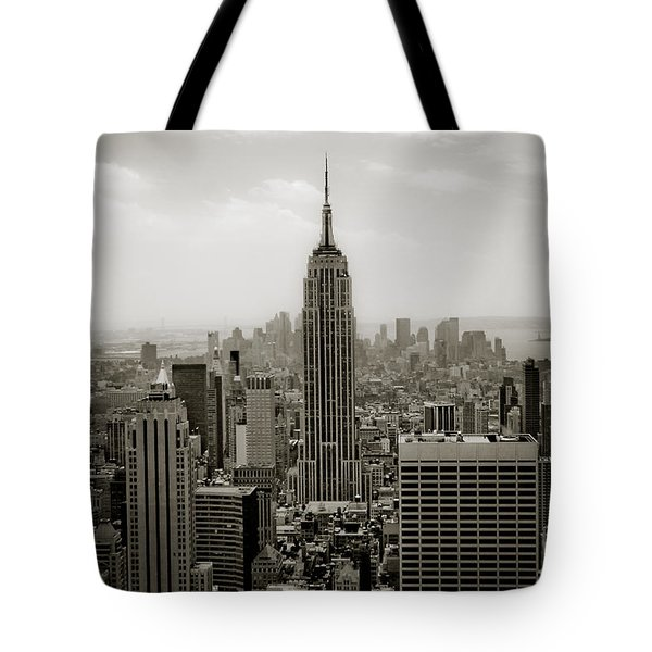 Empire State Tote Bag by Ken Marsh