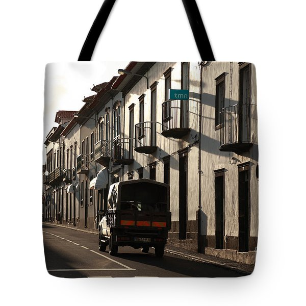 Empty Street Tote Bag by Gaspar Avila