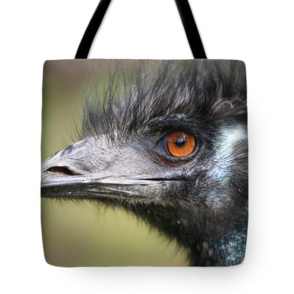 Emu Tote Bag by Karol Livote