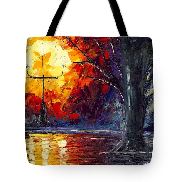 Enchanted Forest Tote Bag by Jessilyn Park
