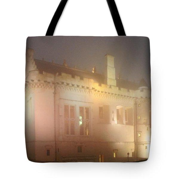 Enchanted Stirling Castle Scotland Tote Bag by Christine Till
