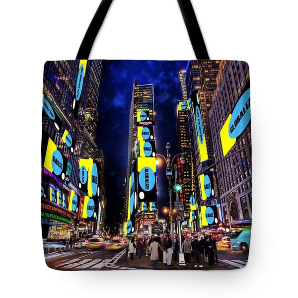 End Of A Nation Tote Bag by Dan Stone