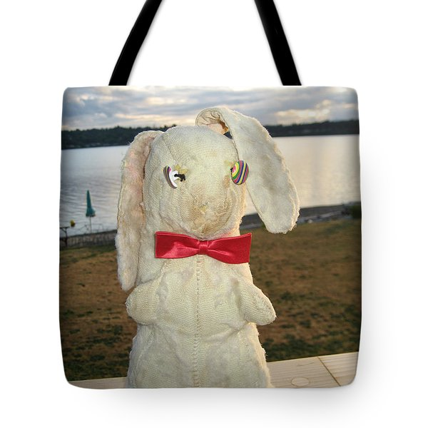 Energizer Bunny No More Tote Bag by Kym Backland