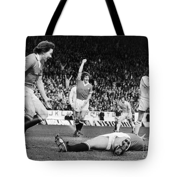 England: Soccer Game, 1977 Tote Bag by Granger