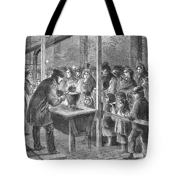 England: Soup Kitchen, 1862 Tote Bag by Granger