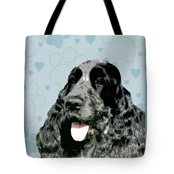 English Cocker Spaniel Tote Bag by One Rude Dawg Orcutt