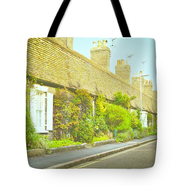English Cottages Tote Bag by Tom Gowanlock