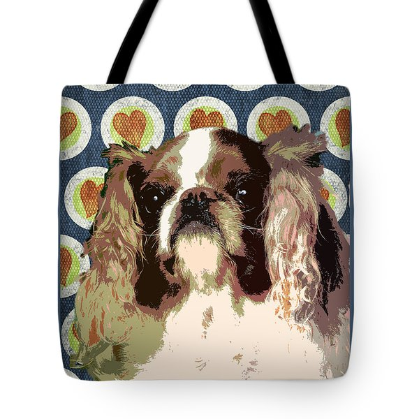 English Toy Spaniel Tote Bag by One Rude Dawg Orcutt