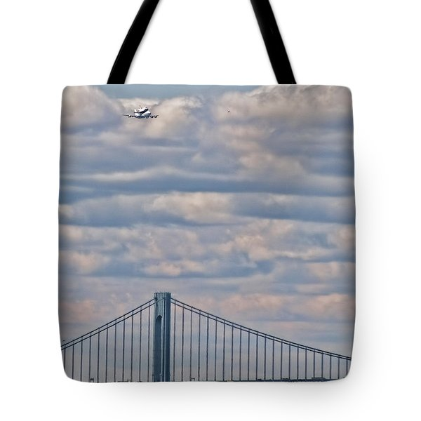 Enterprise 1 Tote Bag by S Paul Sahm