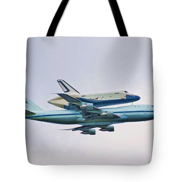 Enterprise 5 Tote Bag by S Paul Sahm