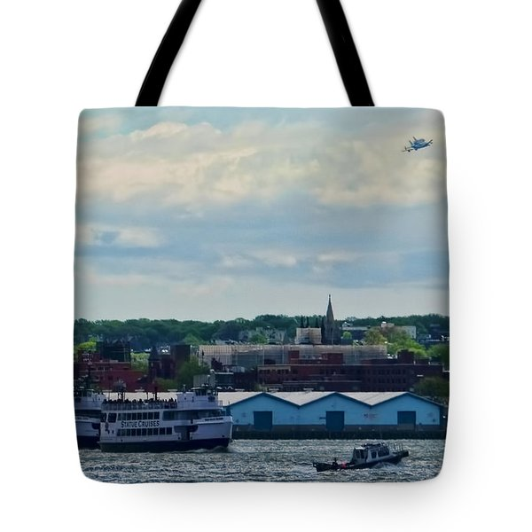 Enterprise 8 Tote Bag by S Paul Sahm