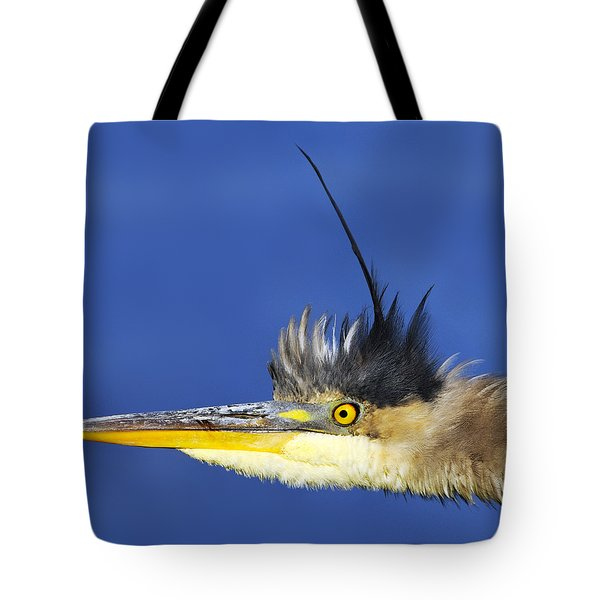 Erect Tote Bag by Tony Beck