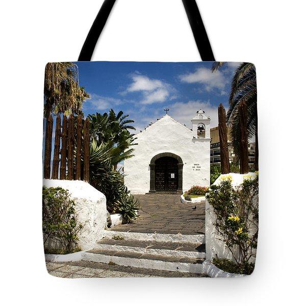 Ermita De San Telmo Tote Bag by Fabrizio Troiani