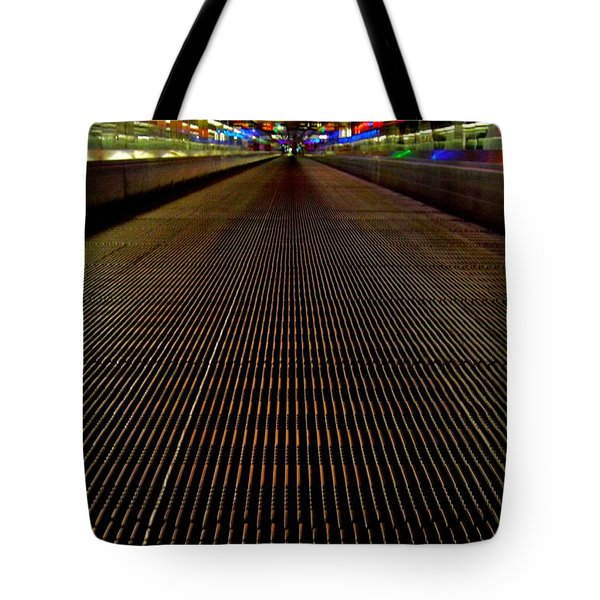 Escalator View ... Tote Bag by Juergen Weiss