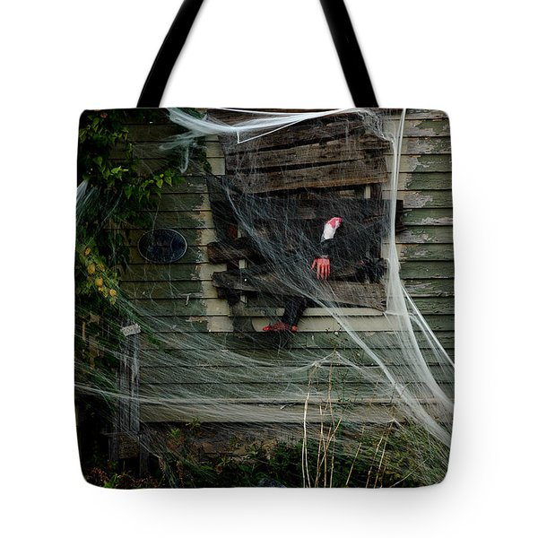 Escaping the Web Tote Bag by LeeAnn McLaneGoetz McLaneGoetzStudioLLCcom