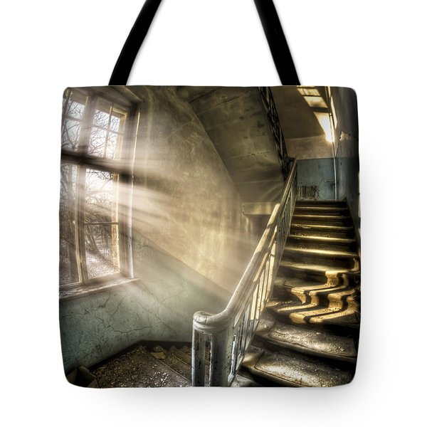 Evening light cooming in Tote Bag by Nathan Wright