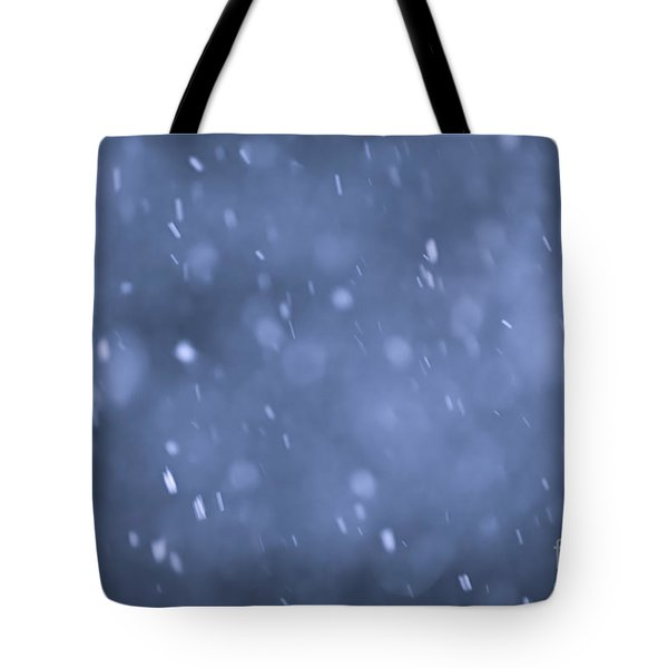 Evening snow Tote Bag by Elena Elisseeva