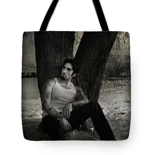 Everybody Needs A Little Time Away Tote Bag by Laurie Search