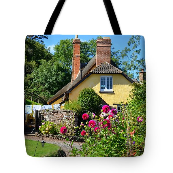 Everyday Life In Somerset Tote Bag by Carla Parris