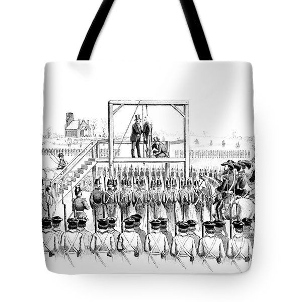 Execution Of John Brown, American Tote Bag by Photo Researchers