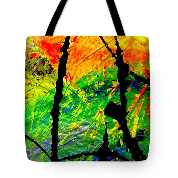 Extreme Ecstasy Tote Bag by Angela L Walker