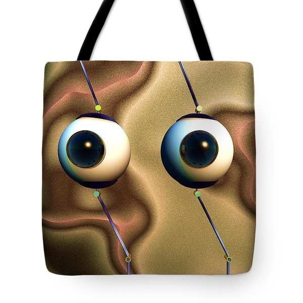 Eye Gestures Tote Bag by Richard Rizzo