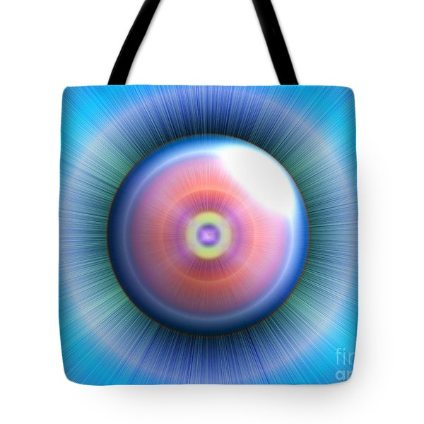 Eye Tote Bag by Nicholas Burningham
