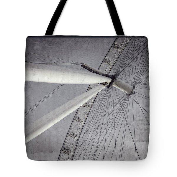 Eye On London Tote Bag by Joan Carroll