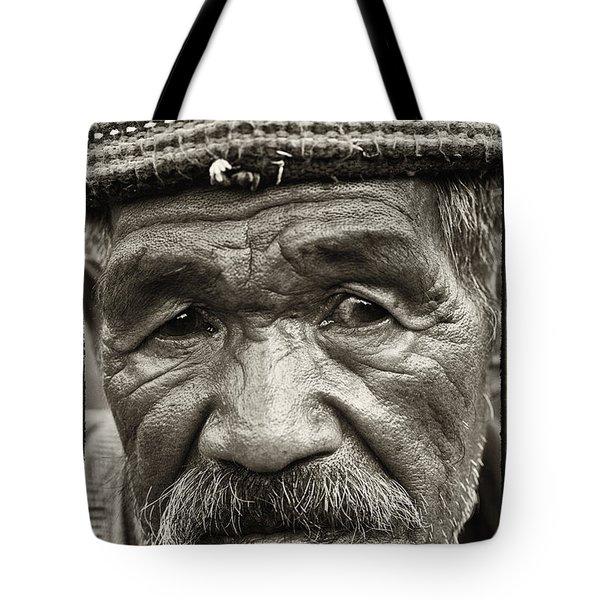 Eyes of Soul Tote Bag by Skip Nall