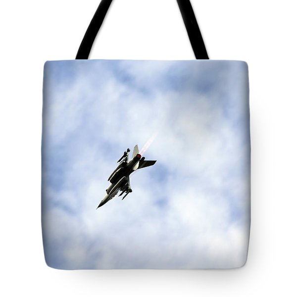 F-16 Of The Belgian Air Force Tote Bag by Luc De Jaeger
