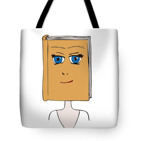 Face Book Tote Bag by Frank Tschakert