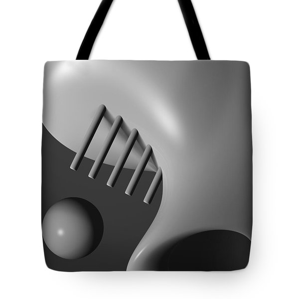 Face In The Crowd Tote Bag by Richard Rizzo
