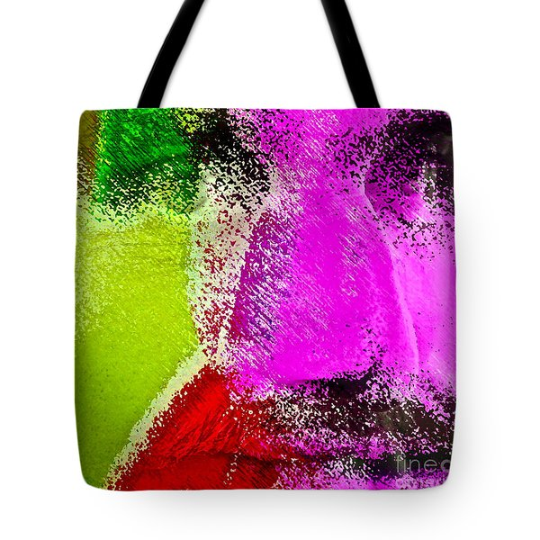 Face To Face Tote Bag by Gwyn Newcombe