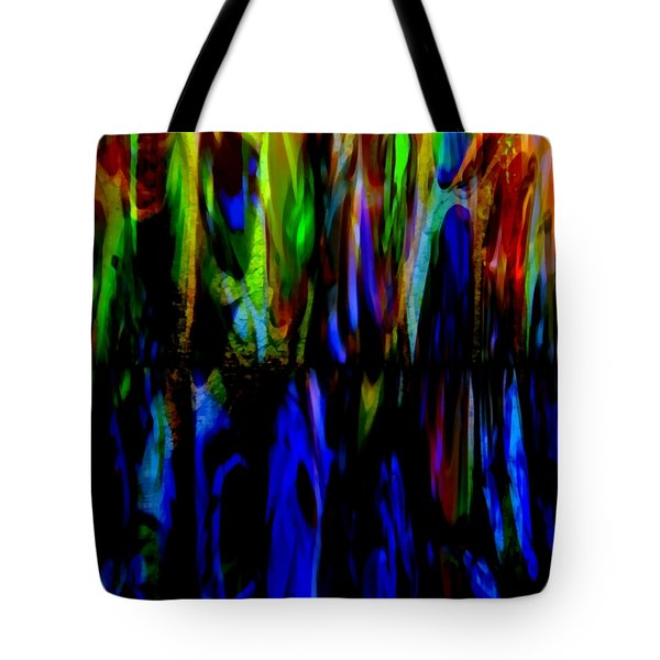 Fade To Blue Tote Bag by Angelina Vick