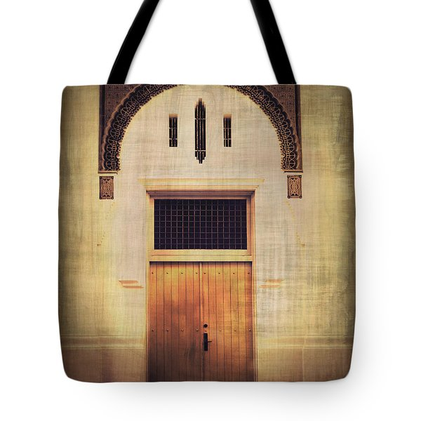 Faded Doorway Tote Bag by Perry Webster