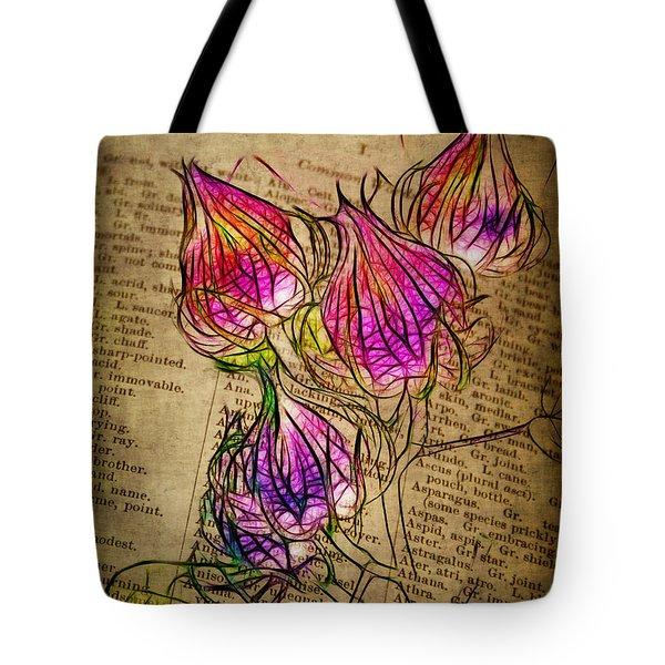 Faerie Caps Tote Bag by Judi Bagwell