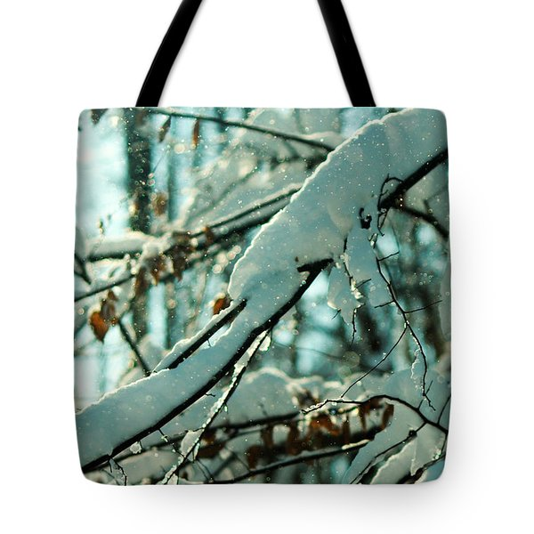 Faery Forest Tote Bag by Rebecca Sherman