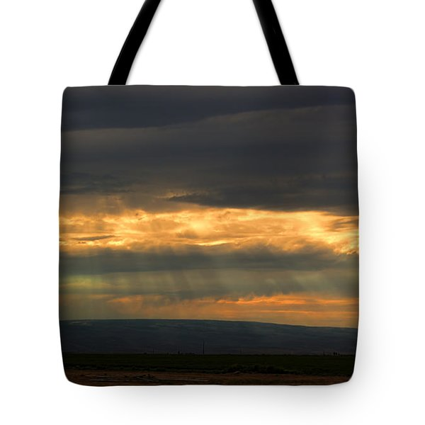 Fairy Lights Tote Bag by James Heckt