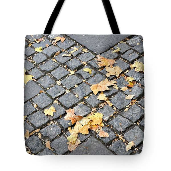 FALL CROSSROADS Tote Bag by JAMART Photography