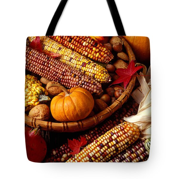 Fall harvest Tote Bag by Garry Gay