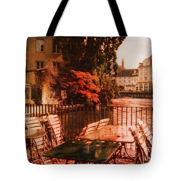 Fall in Lucerne Switzerland Tote Bag by Susanne Van Hulst