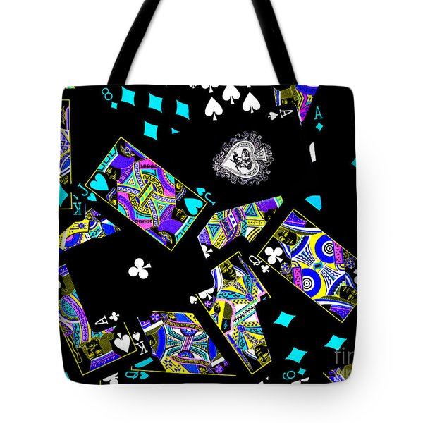 Fall of The House of Cards Tote Bag by Wingsdomain Art and Photography