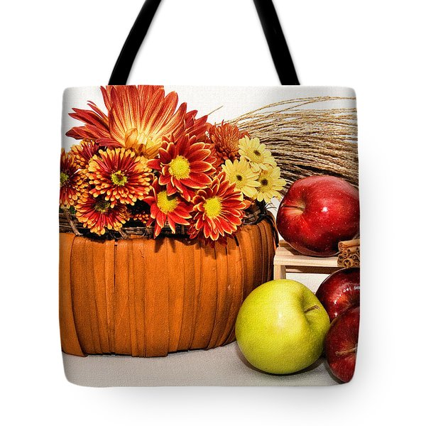 Fall Pleasures Tote Bag by Susan Smith