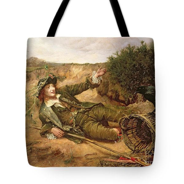 Fallen By The Wayside Tote Bag by Edgar Bundy