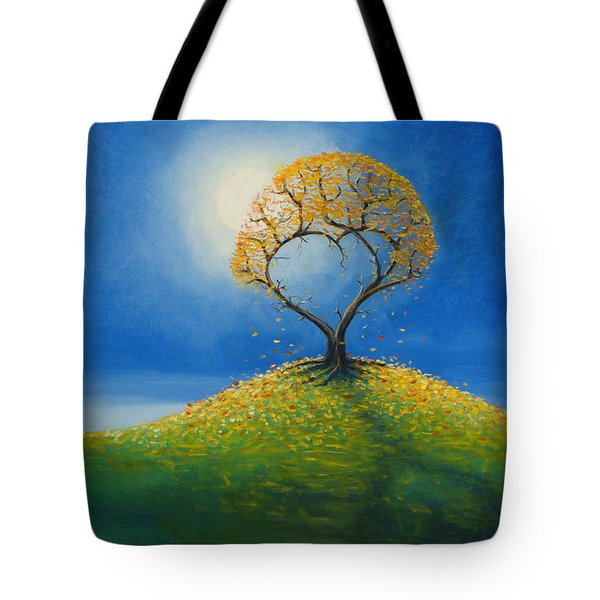 Falling For You 2 Tote Bag by Jerry McElroy